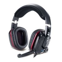 Garantia  1 ANIOPRODUCT FEATURES    VIRTUAL 7 1 CHANNEL PROVIDES EXCELLENT GAMING EXPERIENCE    VIBRATION FUNCTION    GOLD-PLATED USB CONNECTOR    POWERFUL 40MM DRIVER UNIT    UNIDIRECTIONAL MICROPHONE    TECHNICAL SPECIFICATION    HEADPHONE  - DRIVER UNIT