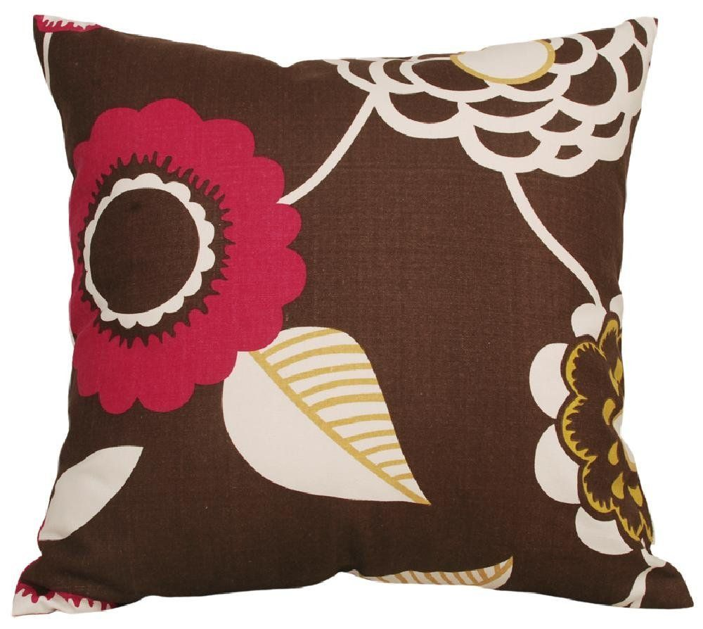Tangdepot decorative handmade floral cotton throw pillow covers