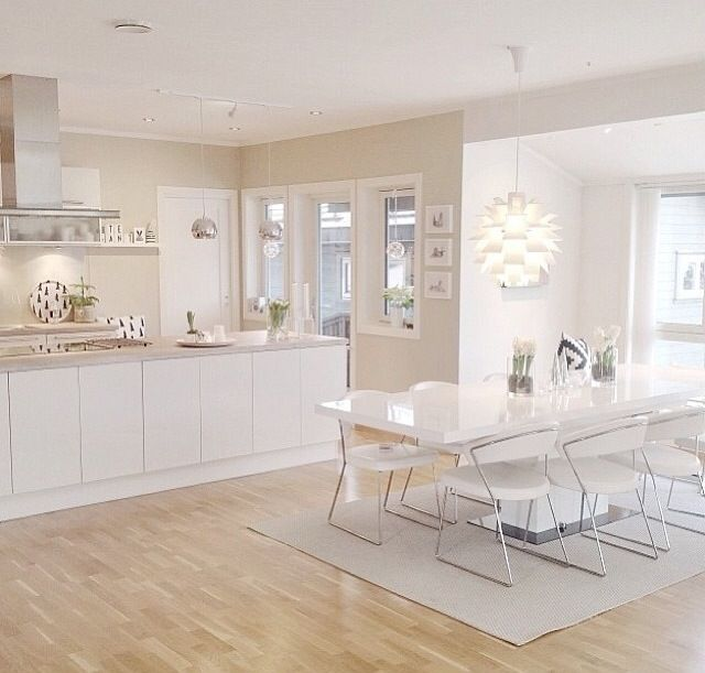 White Kitchen #minimalistkitchen