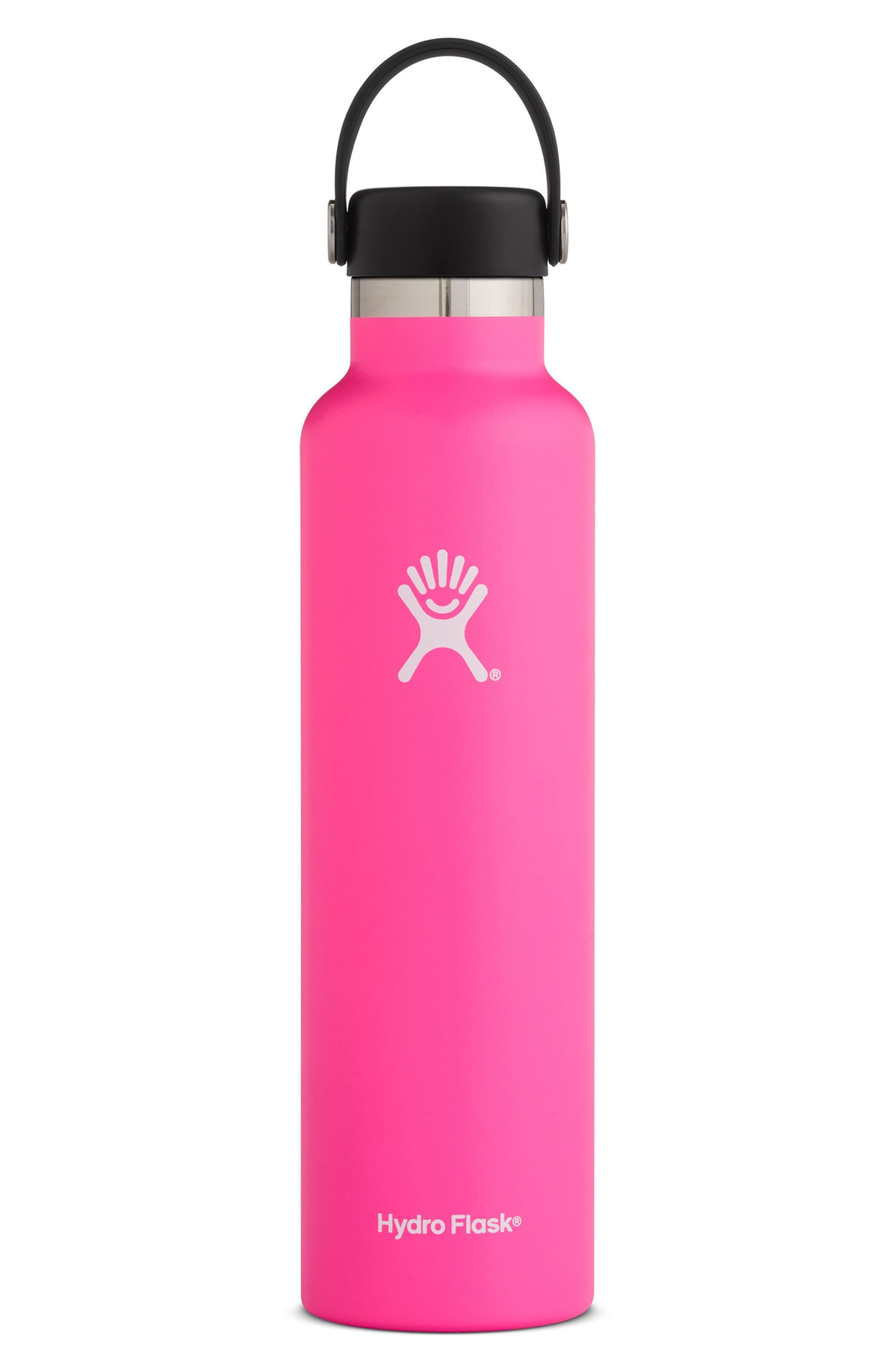 Hydro Flask 24 Ounce Standard Mouth Bottle Nordstrom Hydroflask Hydro Flask 24 Ounce Standard Mouth Bottle Size One Size Pink Hydro Flask Water Bottle Hydro Flask 24 Oz Bottle