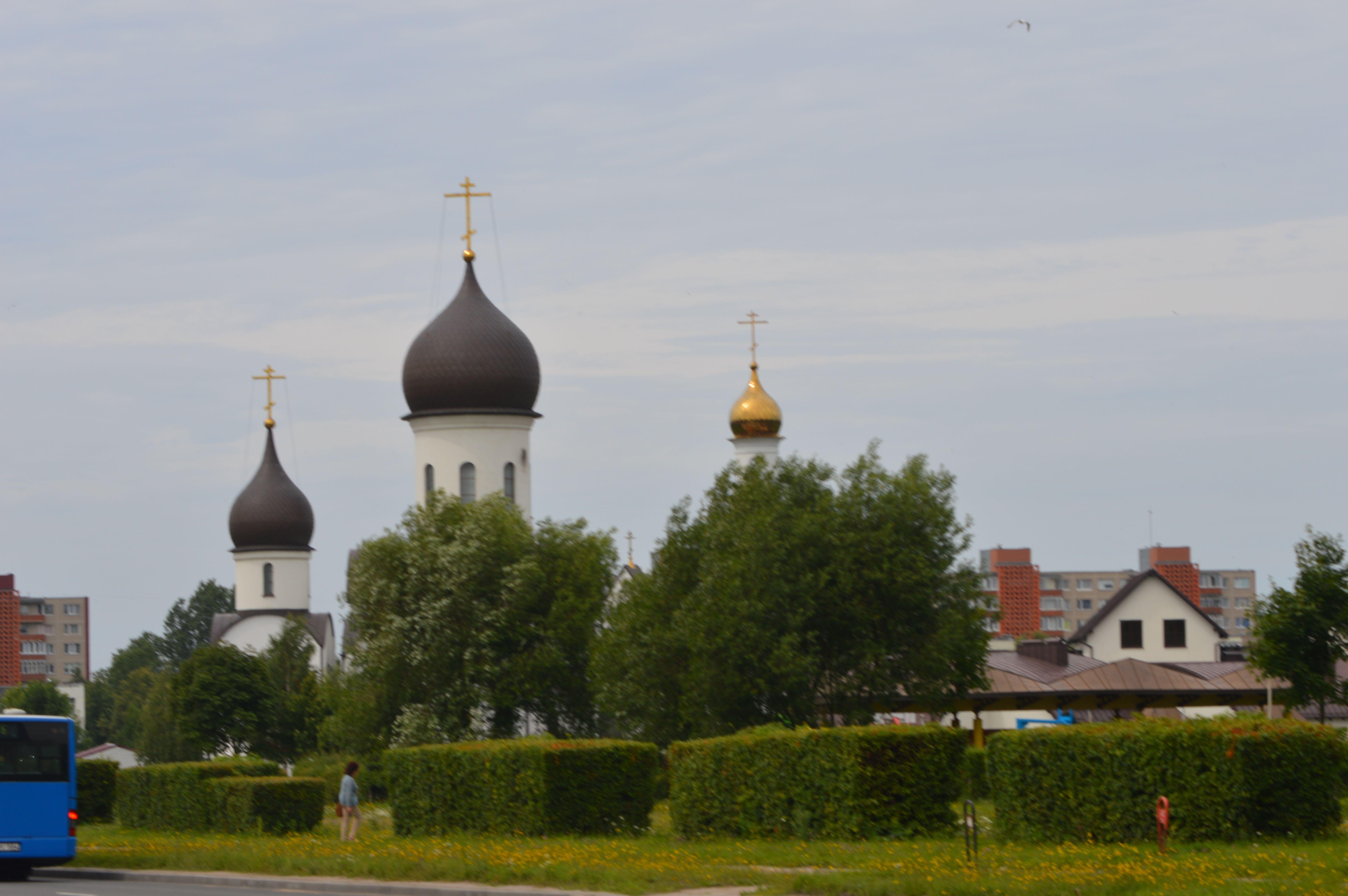 Проспект Смильтялес - Покрово - Никольский Храм - Клайпеда.