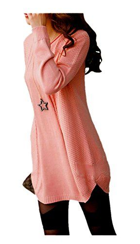 ARJOSA Womens Cotton Knitted Long Sleeve Batwing Crewneck Pullovers Sweater Top (#6 Pink) ARJOSA http://www.amazon.com/dp/B00OXVRMAS/ref=cm_sw_r_pi_dp_a21Lub17ZJYTB