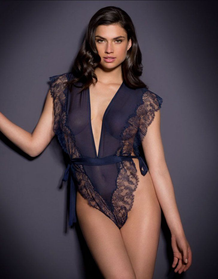 dc7c6eb27 Pin for Later  We Found the Sexiest Lingerie on the Internet Agent  Provocateur Wilal Teddy ( 730)