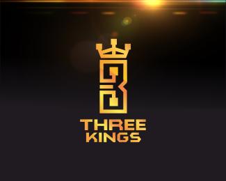 Three Kings Logo Design A Unique Logo For Your Unique Brand Br The Perfect Logo For A Mob Application Busines O Three Kings Graphic Design Logo Logo Design
