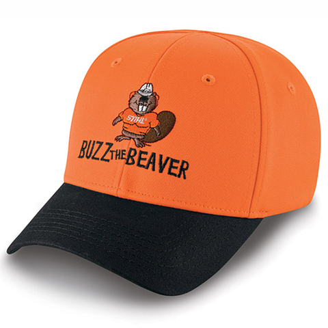 05124e29e4edf7 Youth BUZZ THE BEAVER Cap | STIHL SWAG | Cap, Baseball hats, Hats