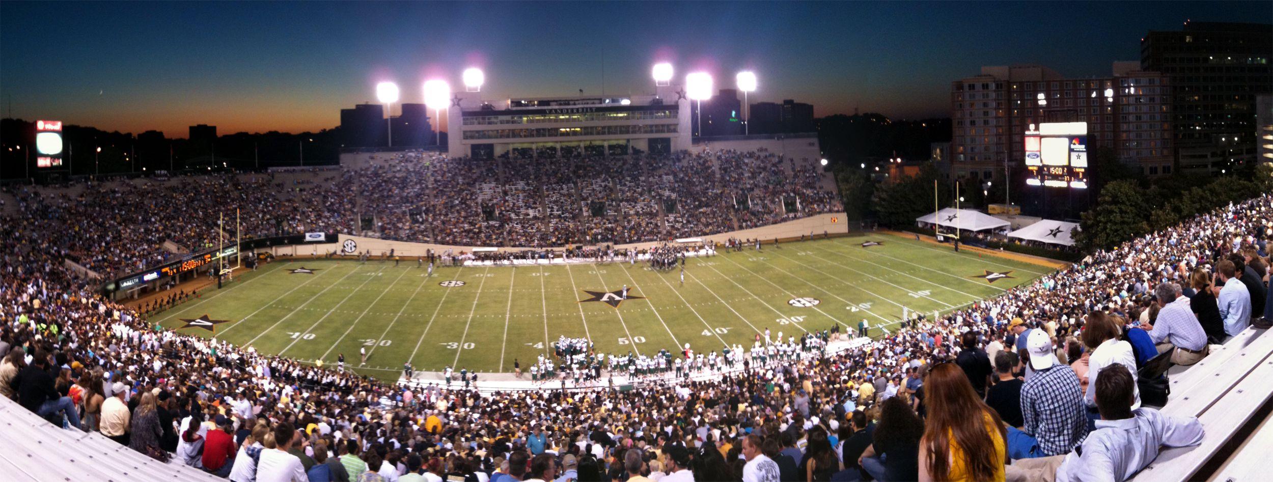 Dudley Field Vanderbilt Stadium Stadium Vanderbilt Seating Charts