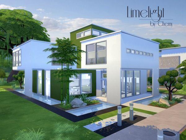sims 4 house modern - Sök på Google | Sims | Pinterest | Ideen