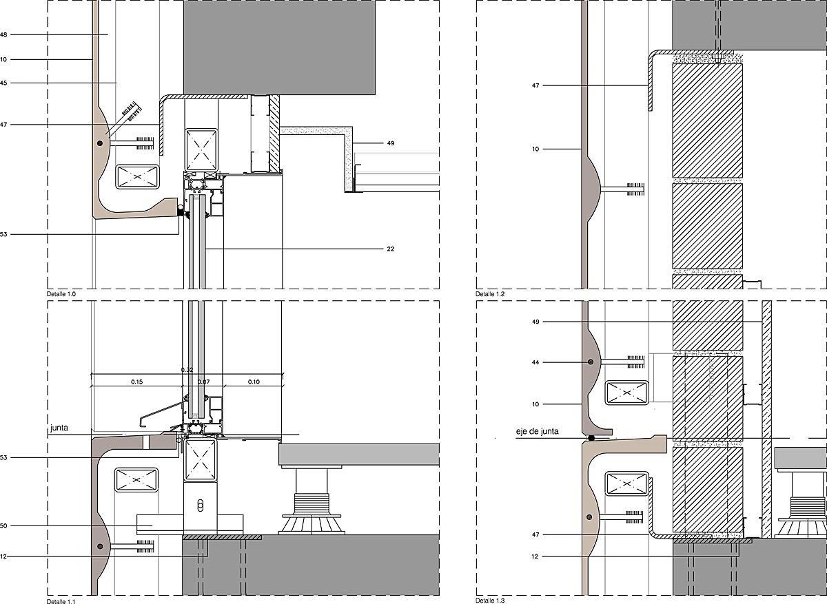 edificio diagonal 197 by david chipperfield poblenou barcelona spain coloured glass fibre. Black Bedroom Furniture Sets. Home Design Ideas
