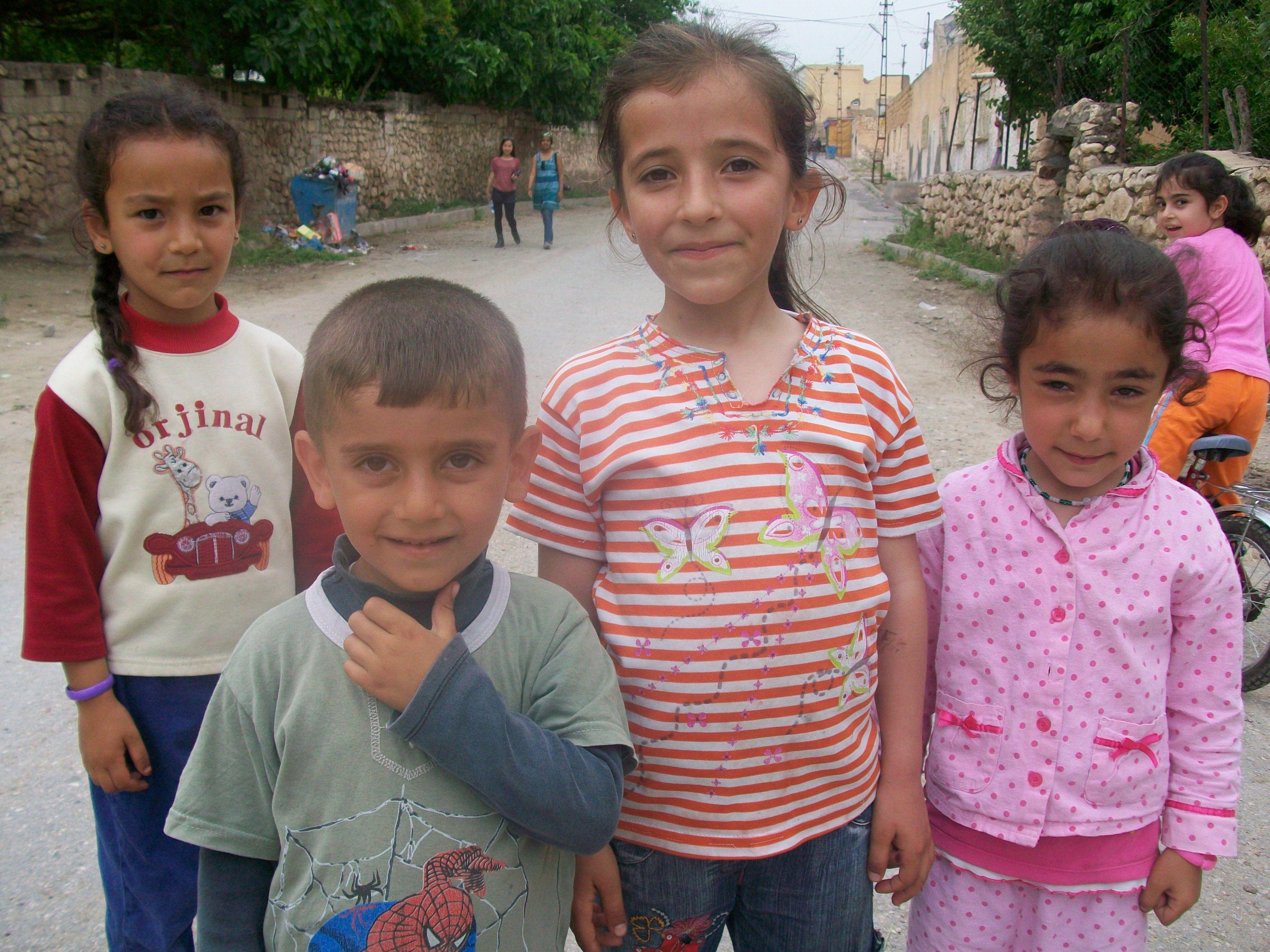 Kurdish children.