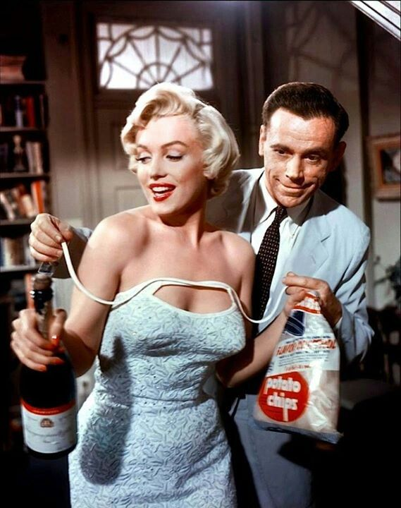 "Marilyn Monroe, Tom Ewell ""The seven year itch"" (1955)"