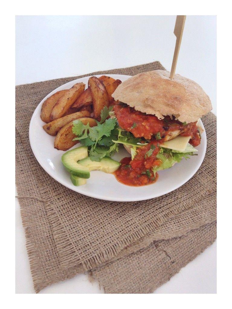 Turkey burgers with Mexican marmalade | Recipe | Healthy ...