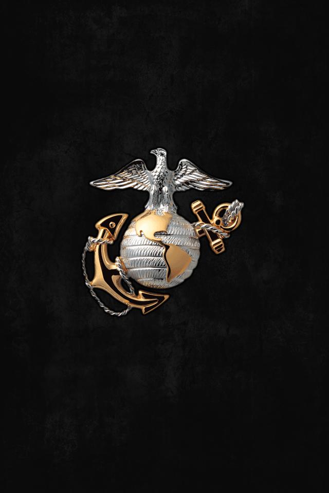 Wallpaper Usmc Logo