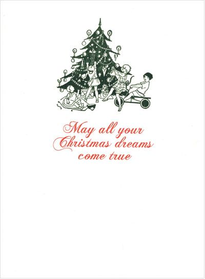 Christmas Dreams Letterary Press Christmas Holiday Cards Holiday