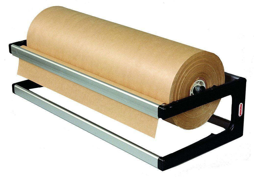 Paper Dispenser 600mm 1 Wrapping Paper Roll Holder Freestanding On Counter Mountable On Workbench Or Wal Paper Dispenser Paper Roll Holders Wrapping Paper