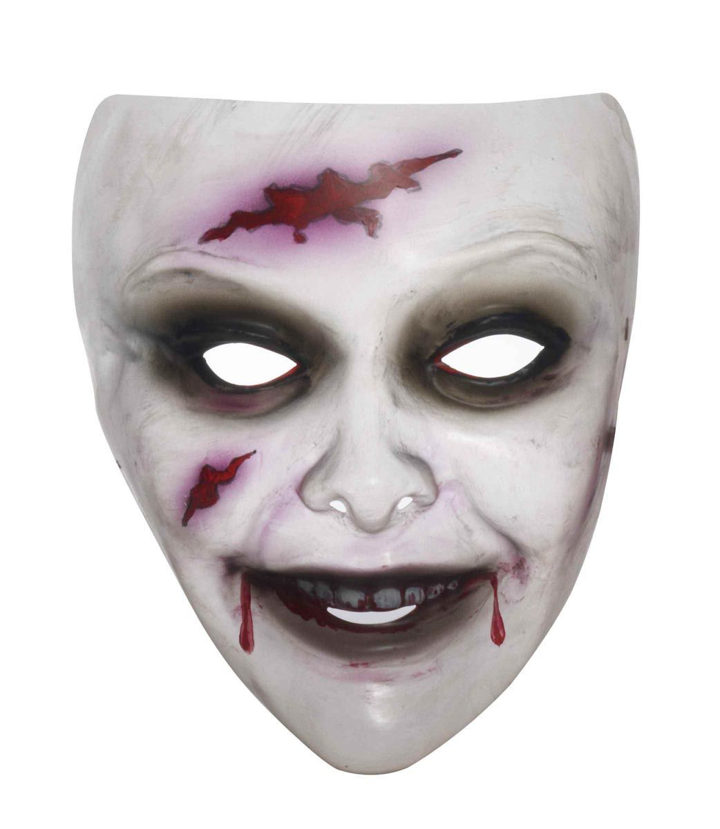 Transparent Female Zombie Costume Mask | Products