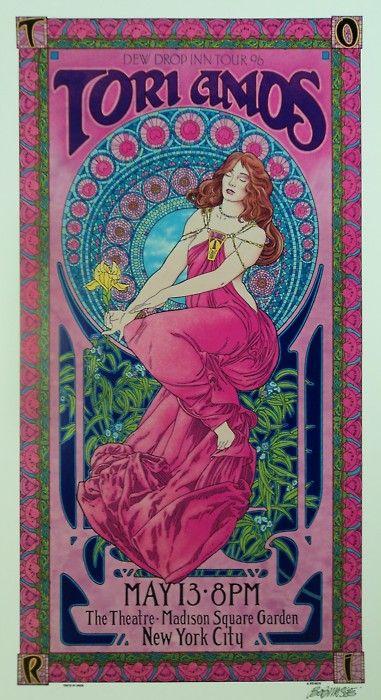 Tori Amos concert poster