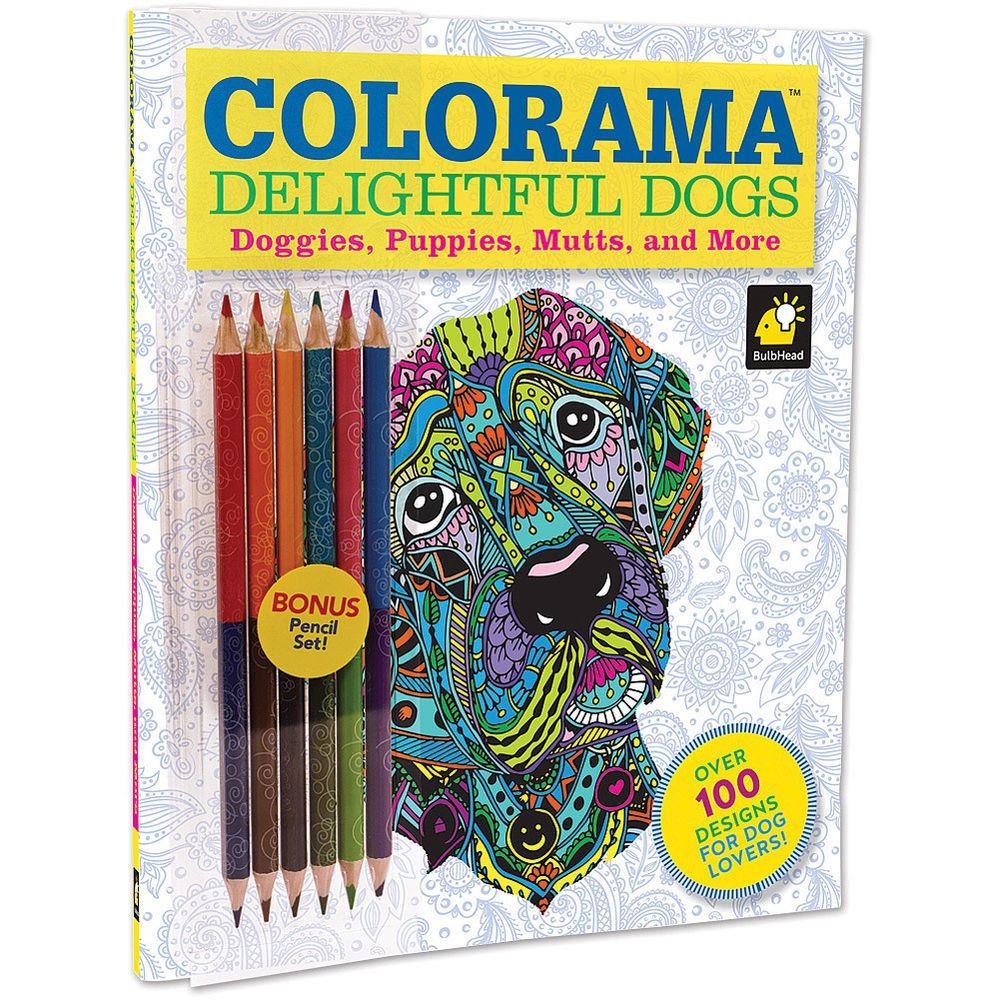 1010+ Colorama Coloring Book Dogs Best HD