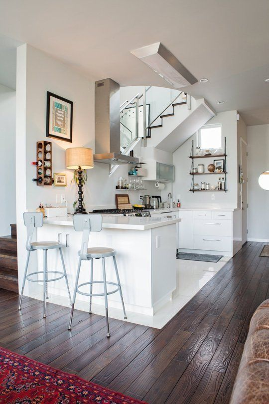 Rebecca Michael S Cozy Modern San Francisco Home Small Apartment Therapy Apartment Therapy Small Spaces Open Kitchen And Living Room