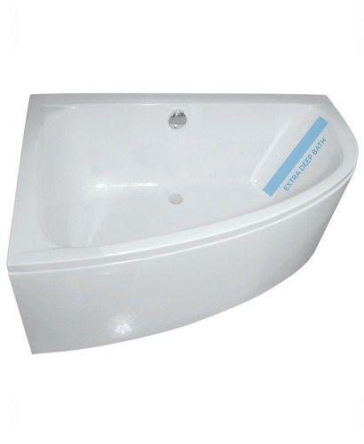 Mayfair 1500 x 1000mm Offset Corner Bath Left Hand & Bath Panel ...