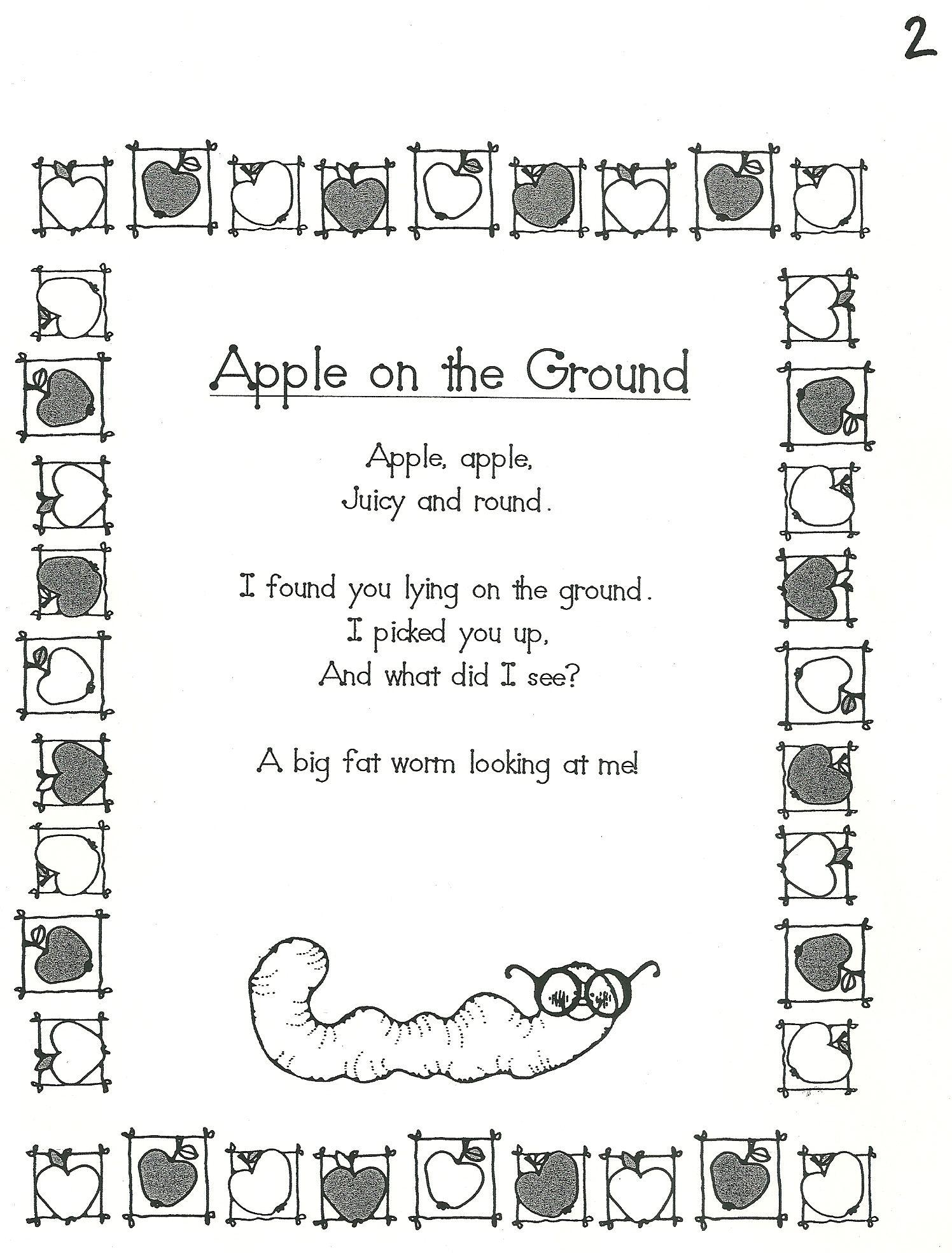 Apple On The Ground Good For September