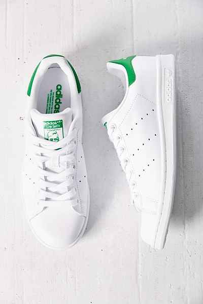 new product 73665 2bd90 An all white pair of Adidas tennis shoes are perfect canvas for a  customized sneaker. adidas Originals Stan Smith Sneaker