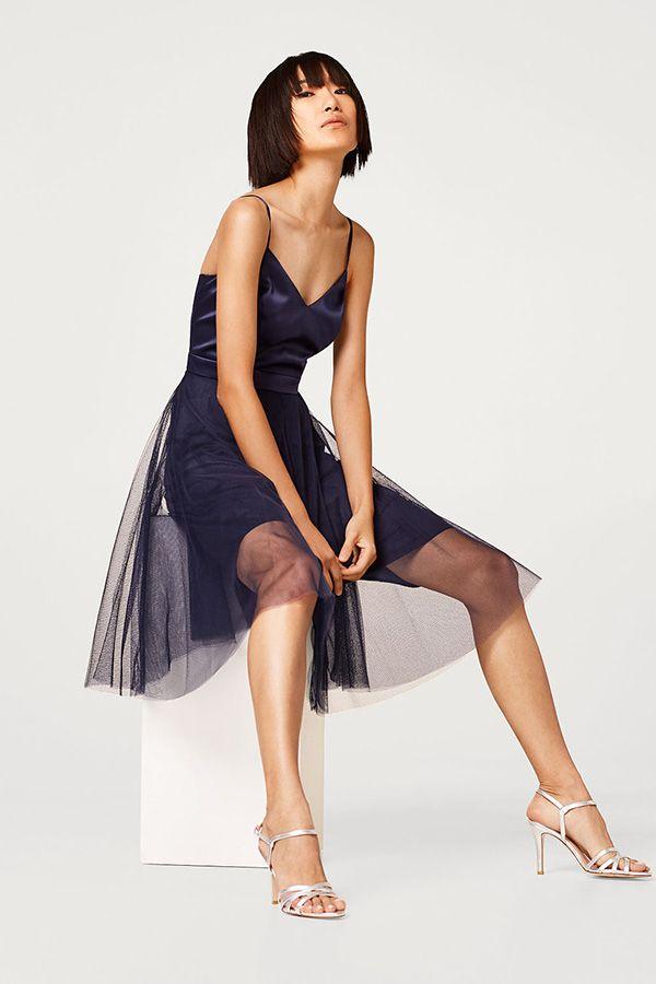 #esprit #dress #tulle | Kleider für frauen, Abendkleider ...