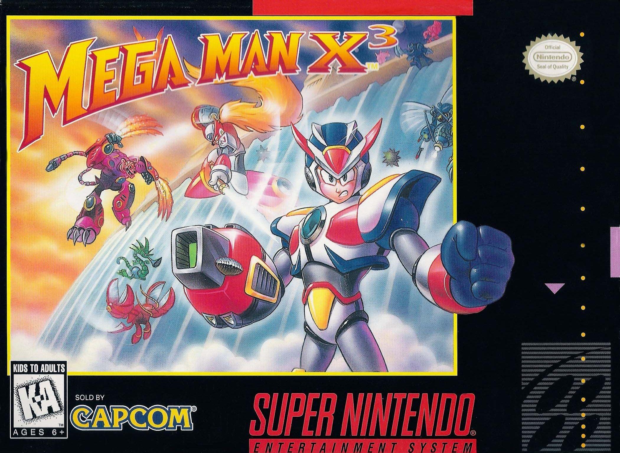 Mega Man X3 Snes Super Nintendo Gaming Room Pinterest Juegos