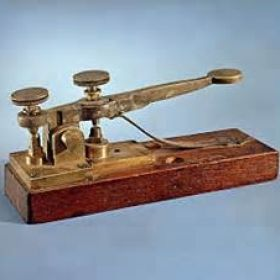 Telegraph invented by samuel f b morse the telegraph transmitted telegraph invented by samuel f b morse the telegraph transmitted electric signals over wires that asfbconference2016 Gallery