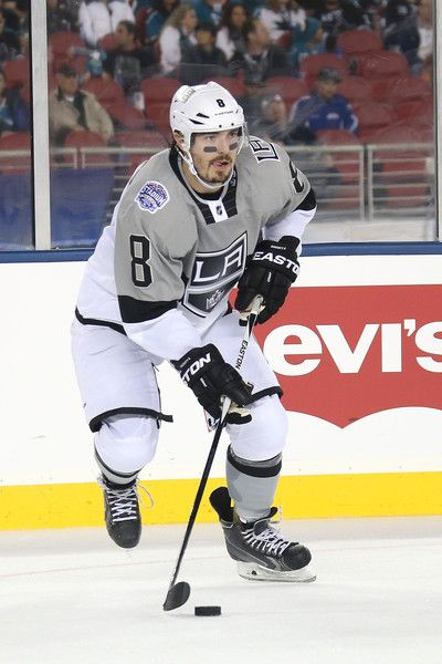 official photos 6950e 023cf Drew Doughty in the Los Angeles Kings Stadium Series Jersey ...