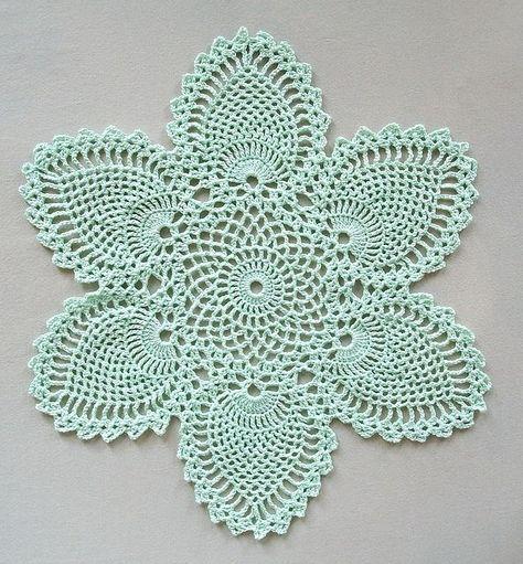 Free Crochet Doily Patterns   Free doily patterns, Crochet doilies ...