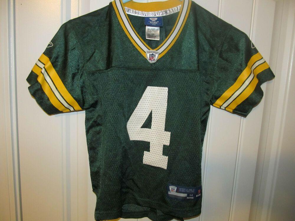 Brett favre green bay packers jersey reebok toddler 5t
