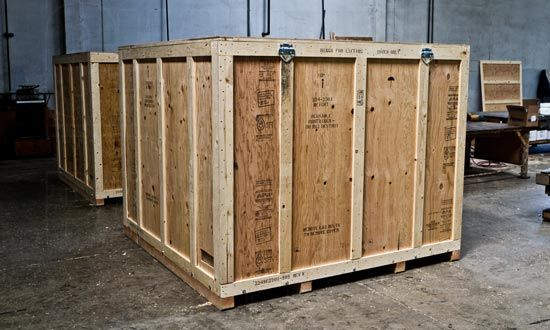 Moving crate