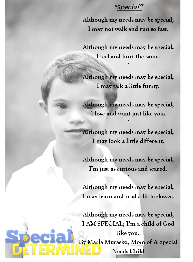 Essay on children with special needs