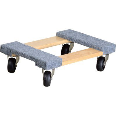 Ironton Carpeted Mover 39 S Dolly 1 000 Lb Capacity 18in X 12in Carpet Design Carpet Cheap Carpet Runners