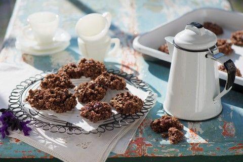 Cookies de avena y pasas para la hora del té