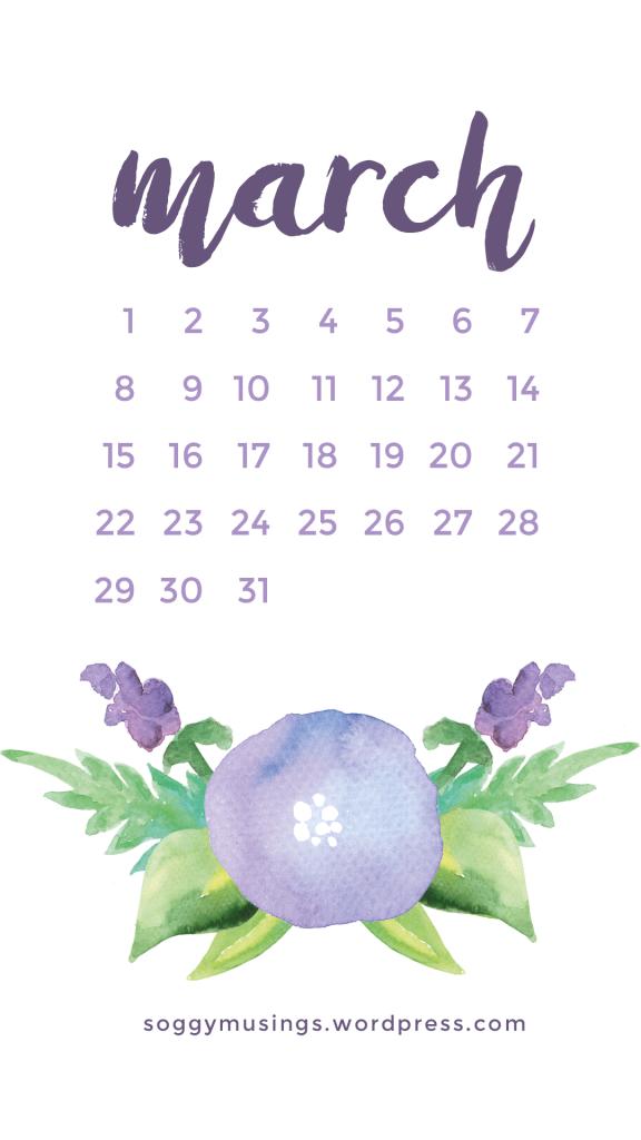 March 2017 wallpaper calendar iphone wallpaper iphone - March desktop wallpaper ...