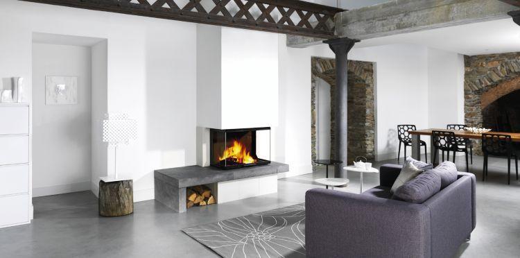 atra foyer relevable atraflam 3 vitres 750 et 900 chemin e pinterest. Black Bedroom Furniture Sets. Home Design Ideas