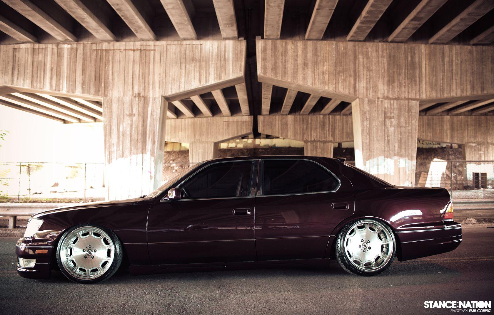 WORK rims on my Lexus LS400 @carikyoko