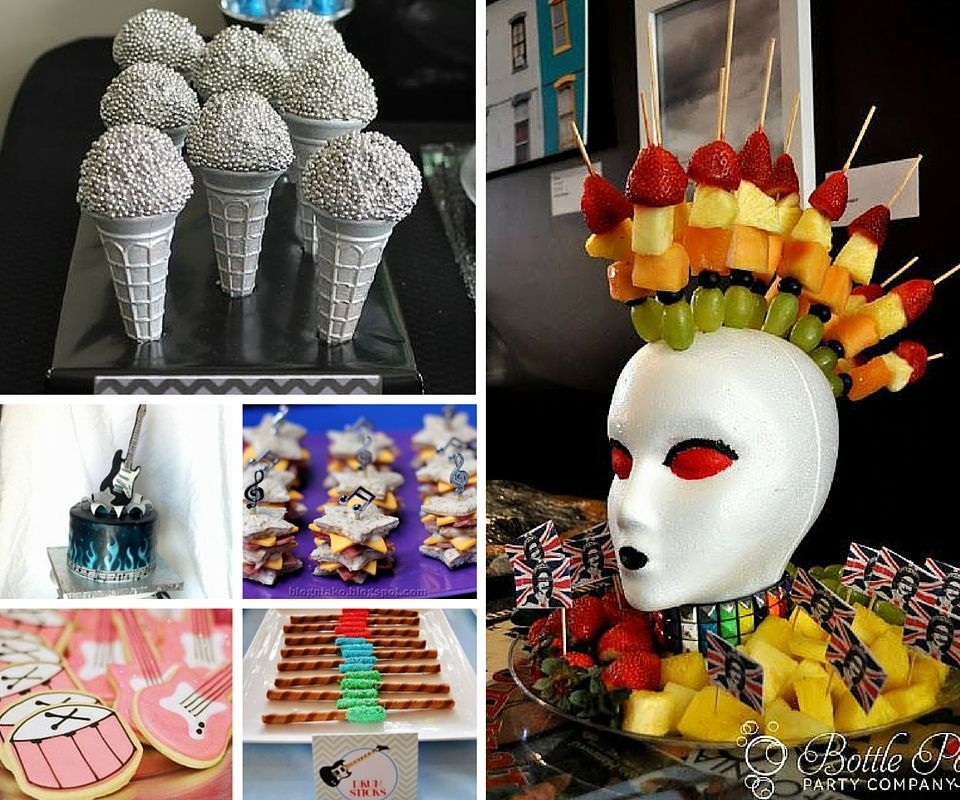 Rock Star Party Ideas | Rock and Roll Party Ideas at Birthday in a ...