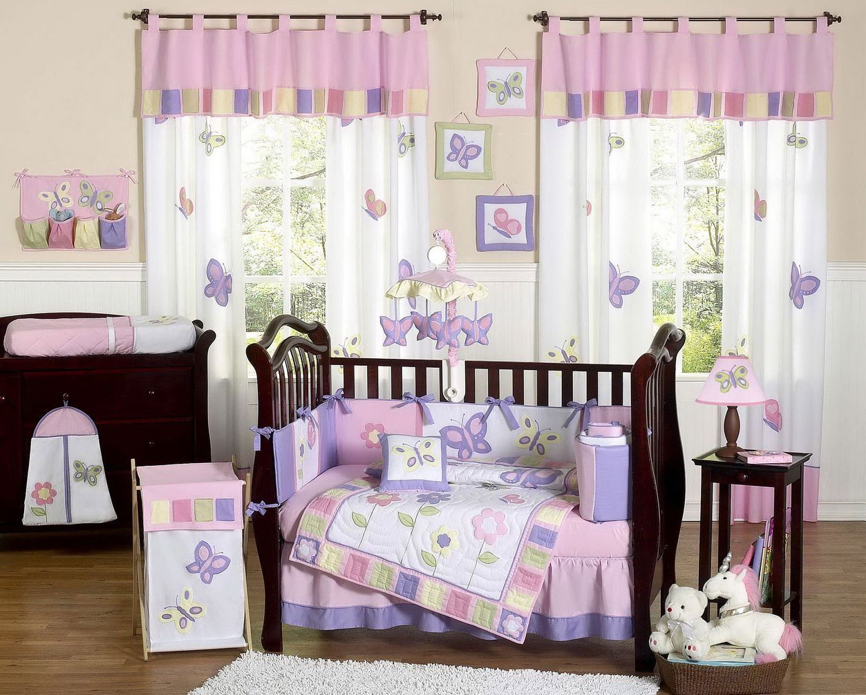 Baby Nursery Butterfly Baby Room Theme Small Baby Girl