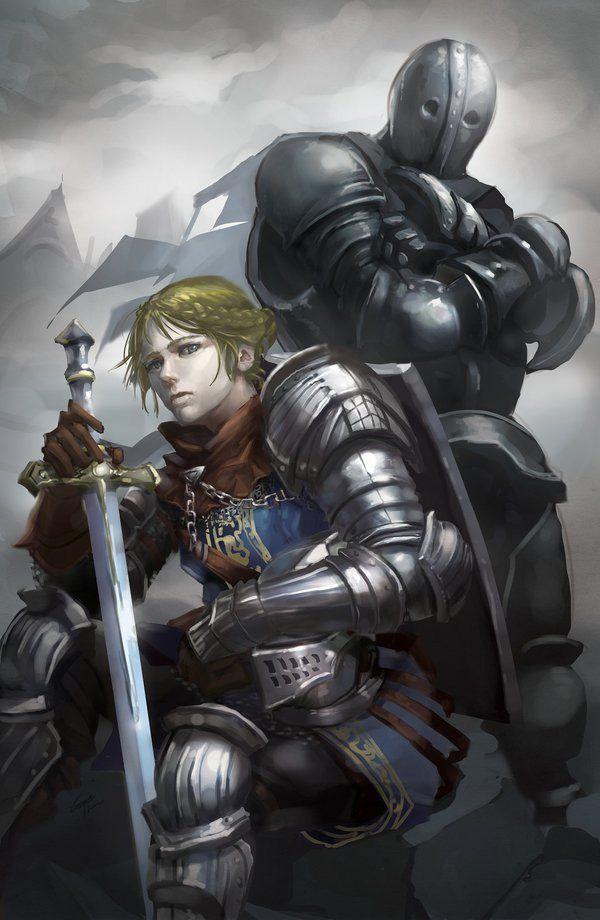 Dark Souls 3 Female Anri Of Astora And Horace The Hushed Dark