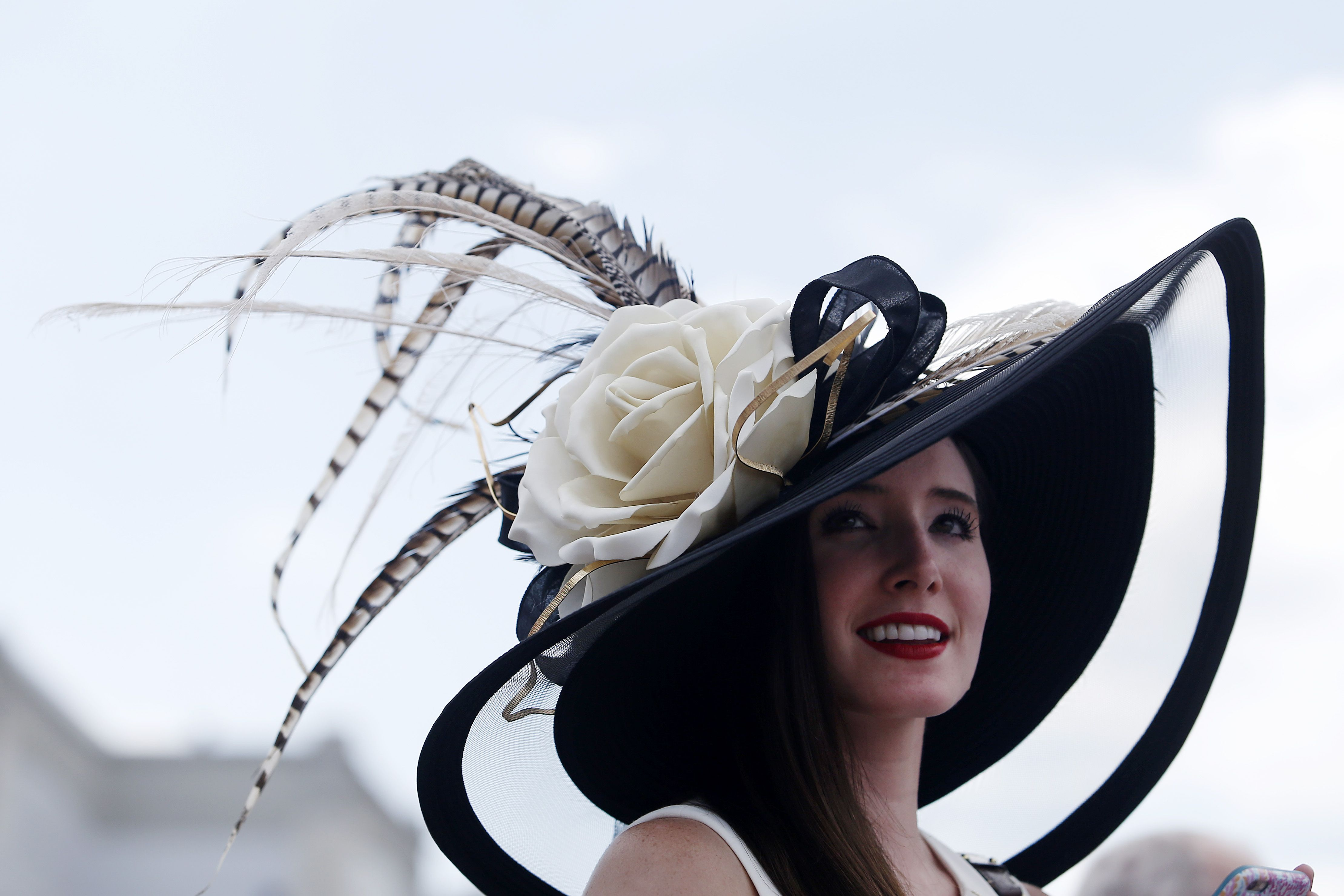 7db932d9618 The most gloriously outrageous hats at the Kentucky Derby