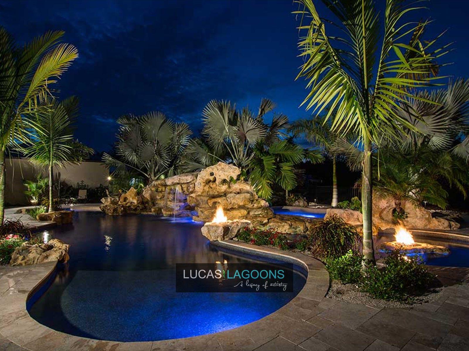 Lagoon Pools Lucas Lagoons Pools Lagoon Pool Cool Pools Pool Landscaping