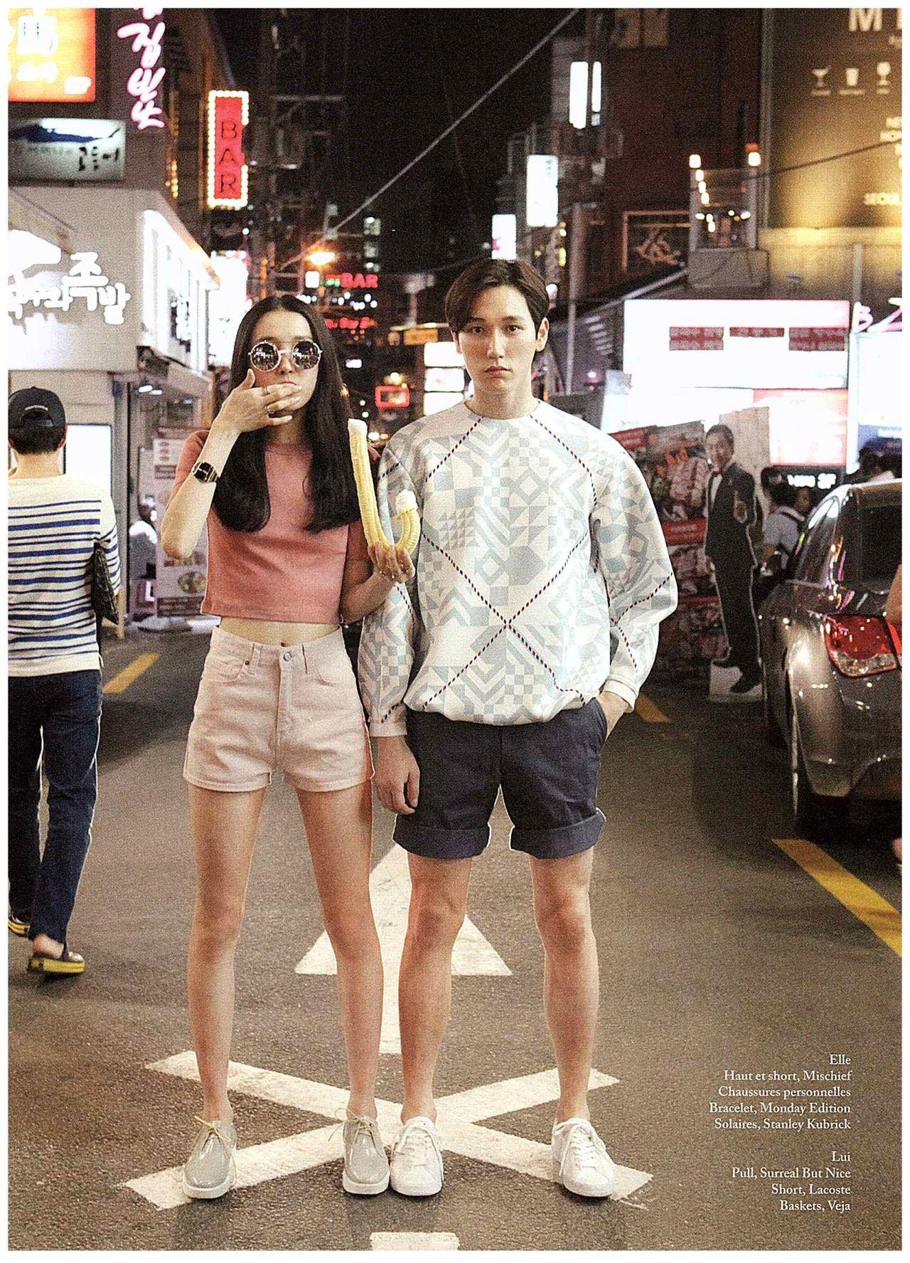 Park Su Jin, Jo Yeon Soo for Iheart Magazine June 2014