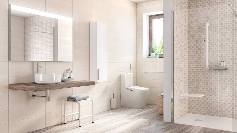 Do You Need To Renovate A Bathroom For The Elderly Roca Life In 2020 Bathroom Accessories Design Bathroom Grab Rails Modern Bathroom