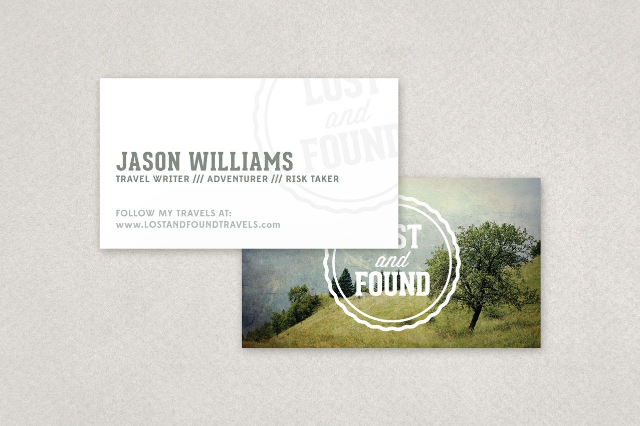 Travel Blogger Business Card Template Sample Inkd Business Cards Creative Templates Business Card Template Design Business Cards Creative