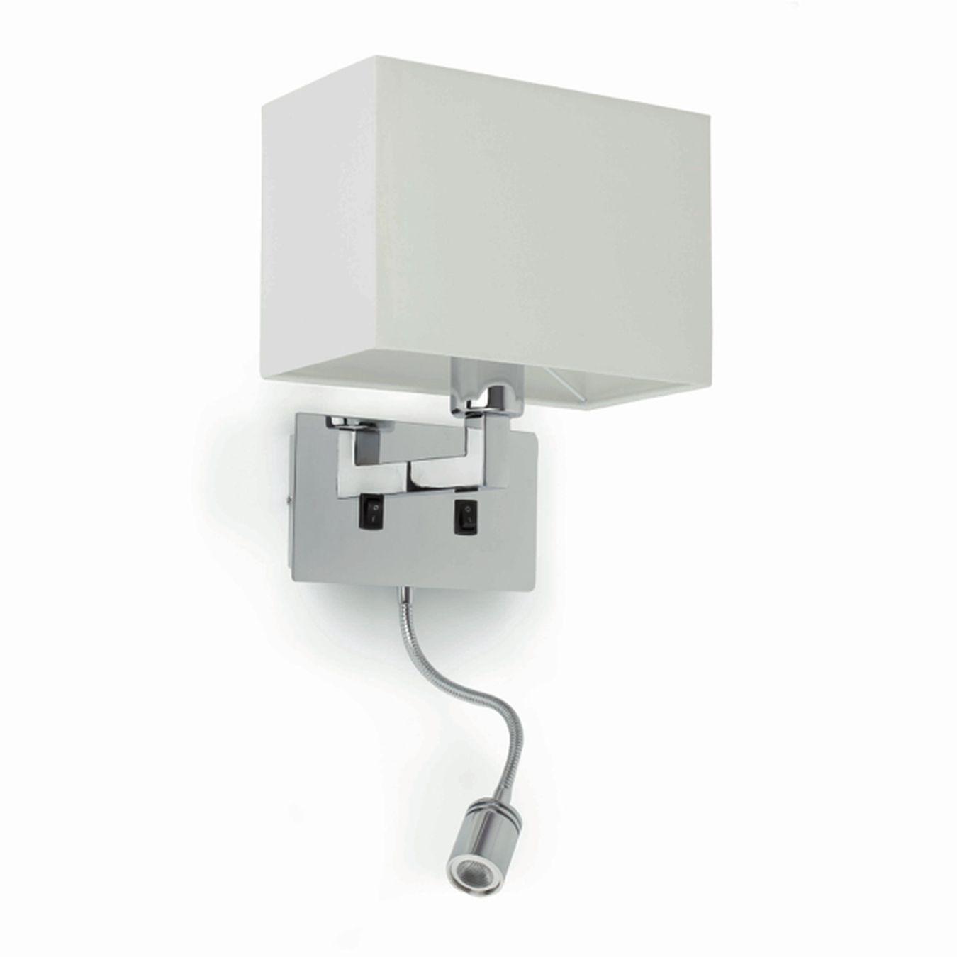 lmpara de pared con luz de lectura de led lemar tienda de lmparas ventiladores