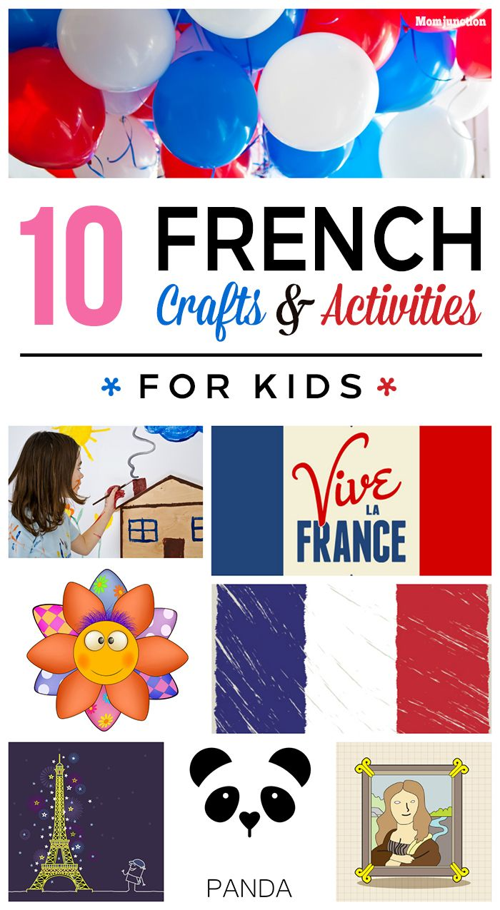 10 interesting french crafts and activities for kids french