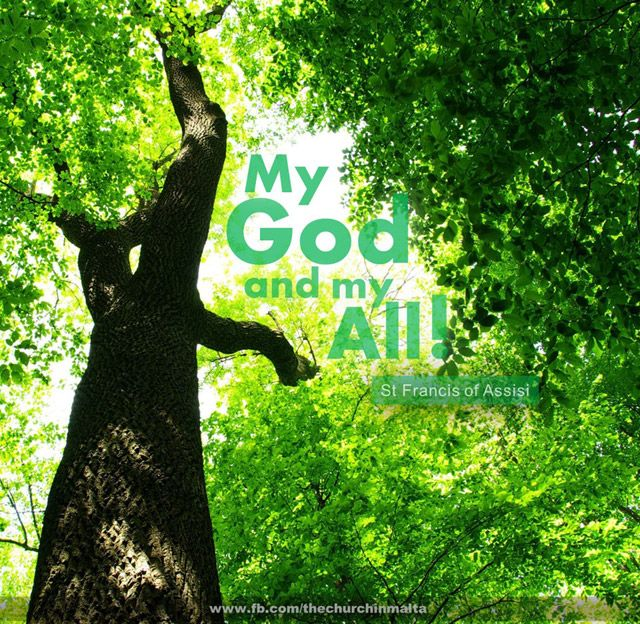 My God and my All.