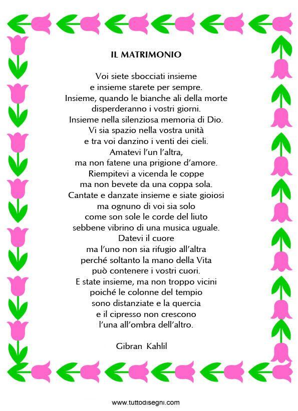 Poesia Matrimonio Gibran Antonella Words Word Search E Puzzle